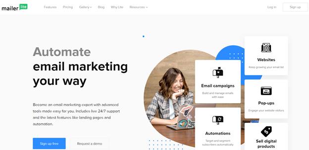 MailerLite email marketing