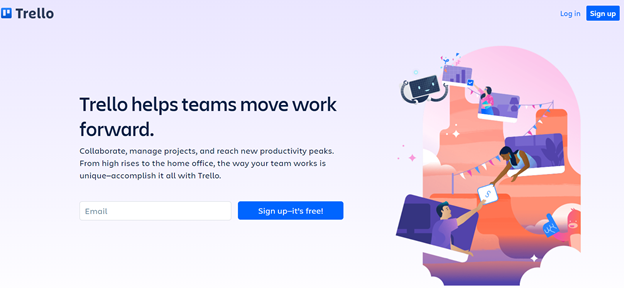Trellofree project management app
